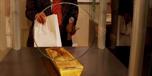 record gold buying