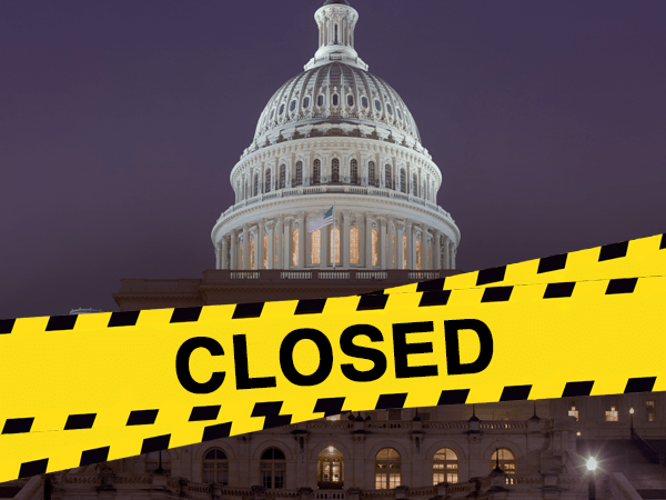 government shutdown crossfire
