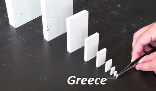 greece domino financial ebola