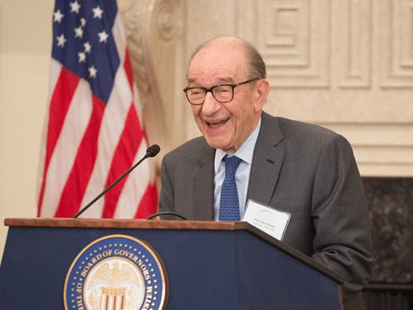Alan greenspan says eurozone isn't working
