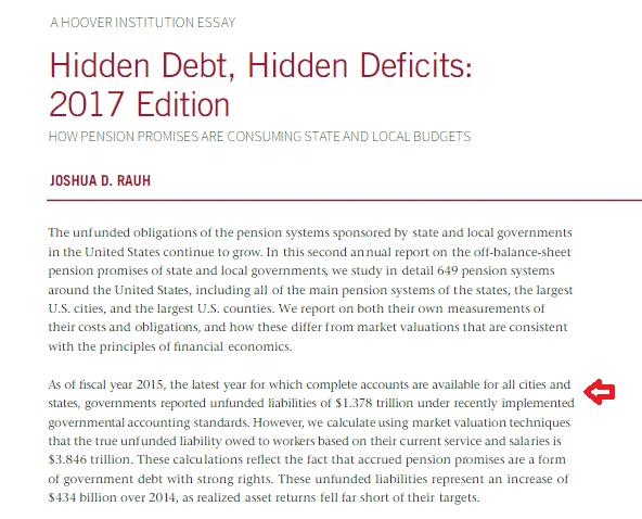 hidden debt hidden deficits