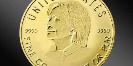 Hillary win good for gold