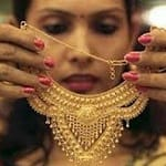 gold india necklace