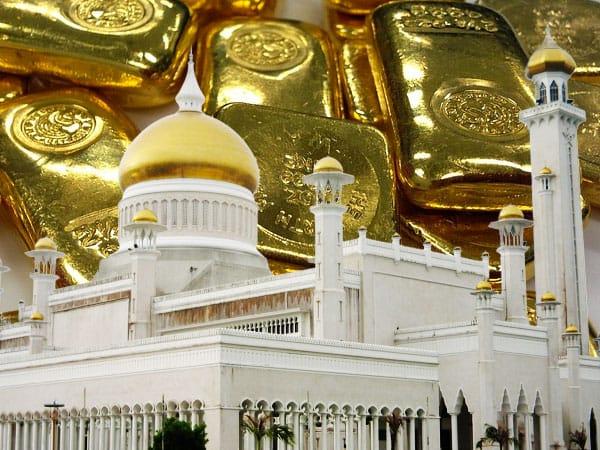 islamic change to gold