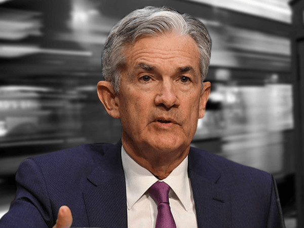 jerome powell talks rates