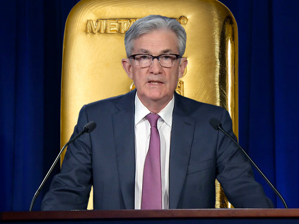 jerome powell gold