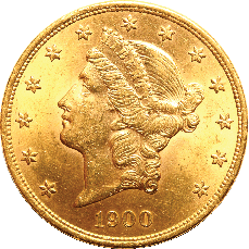 liberty head double eagle gold coin
