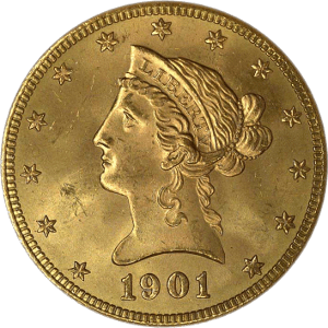 liberty head eagle 10 obverse Gold