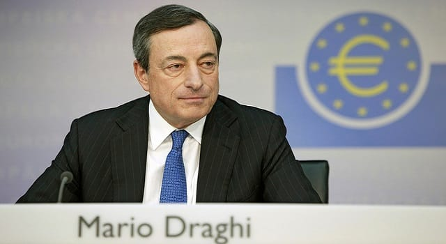 mario draghi europe quantitative easing