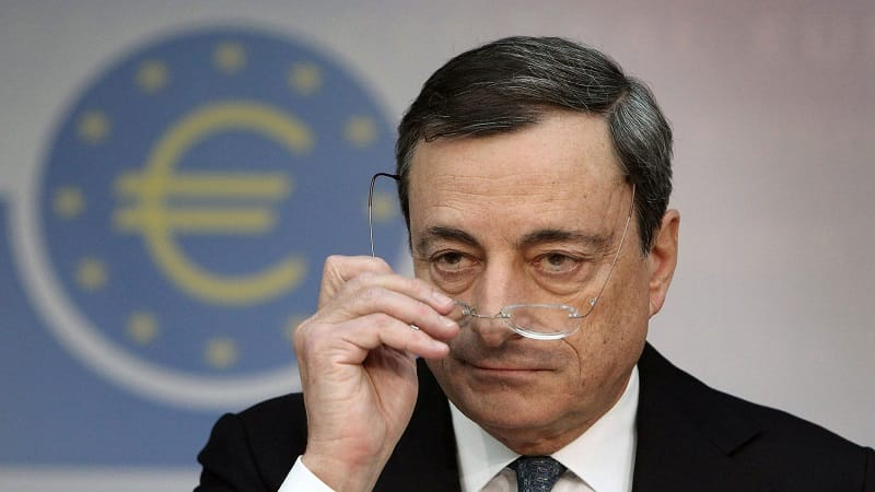 european central bank mario draghi