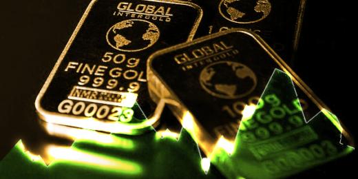market crash won't hurt gold