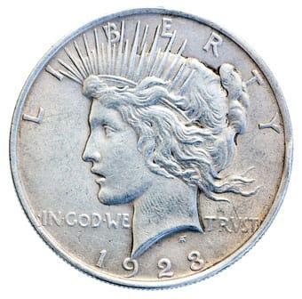 peace silver dollar Silver