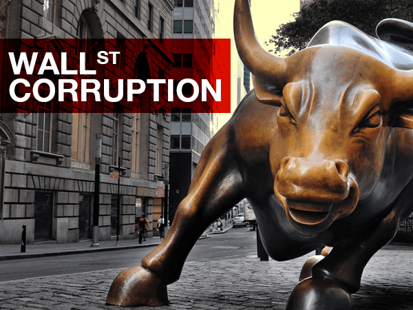 lack of penalties for wall street