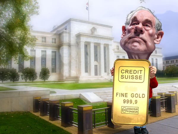 Ron Paul says bet on gold