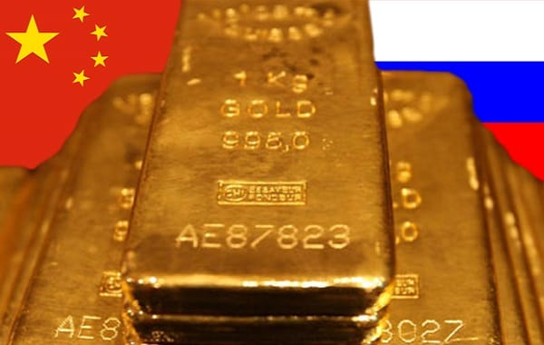 russia china buying gold