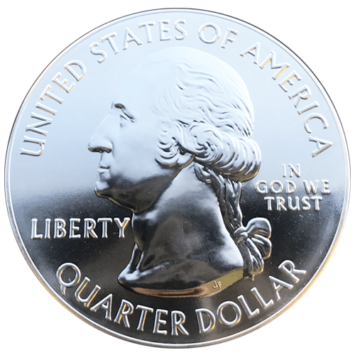 America the Beautiful Silver Series - back