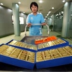 gold price rising china