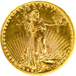 st gaudens double eagle 20 Gold