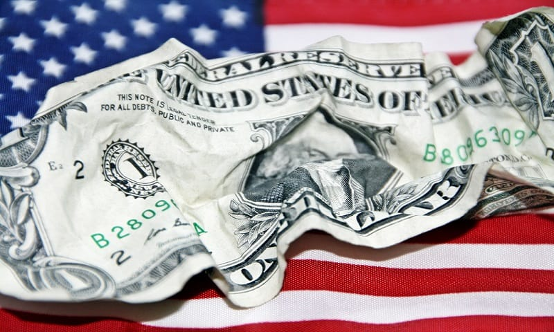 dollar global reserve currency crisis