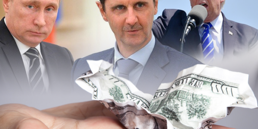 Syria dollar tension war us russia