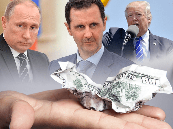 Syria dollar tension war us russia