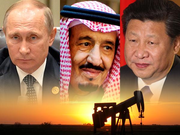 china russia overthrow petrodollar