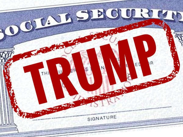 trump affects social security