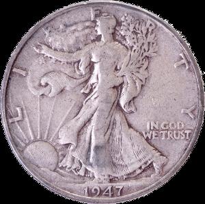 walking liberty half dollar silver coin